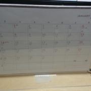 自作カレンダー完成写真