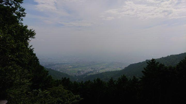 エコパ伊奈ヶ湖の展望台からの風景