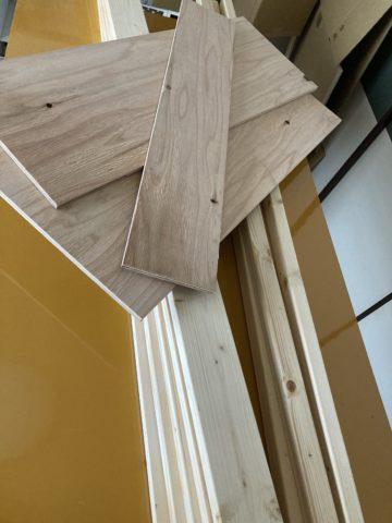 材料の木材の写真