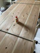 カフェ板天板の接合写真